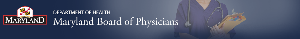 Maryland Board of Physicians